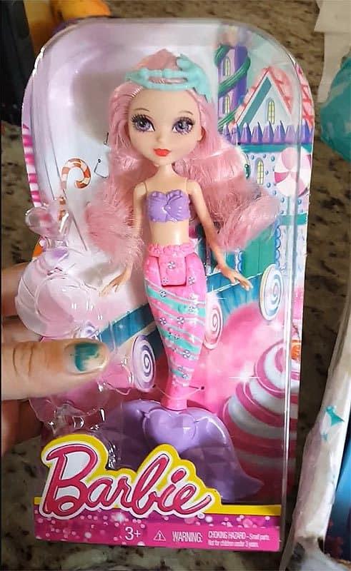 Summer 2016 Mermaidbox Review - Barbie Mermaid