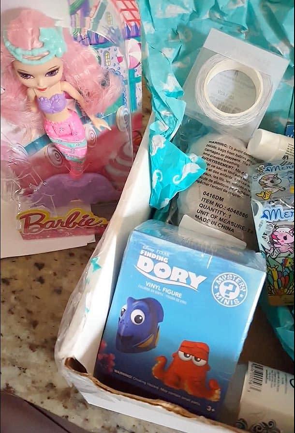 Summer 2016 Mermaidbox Review - Box Contents