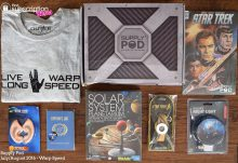 Supply Pod August 2016 Review – Warp Speed - Box Contents