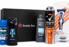 Target His Holiday Beauty Box