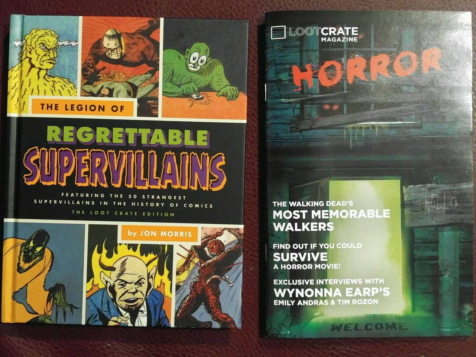 October 2016 Loot Crate Horror Crate Review