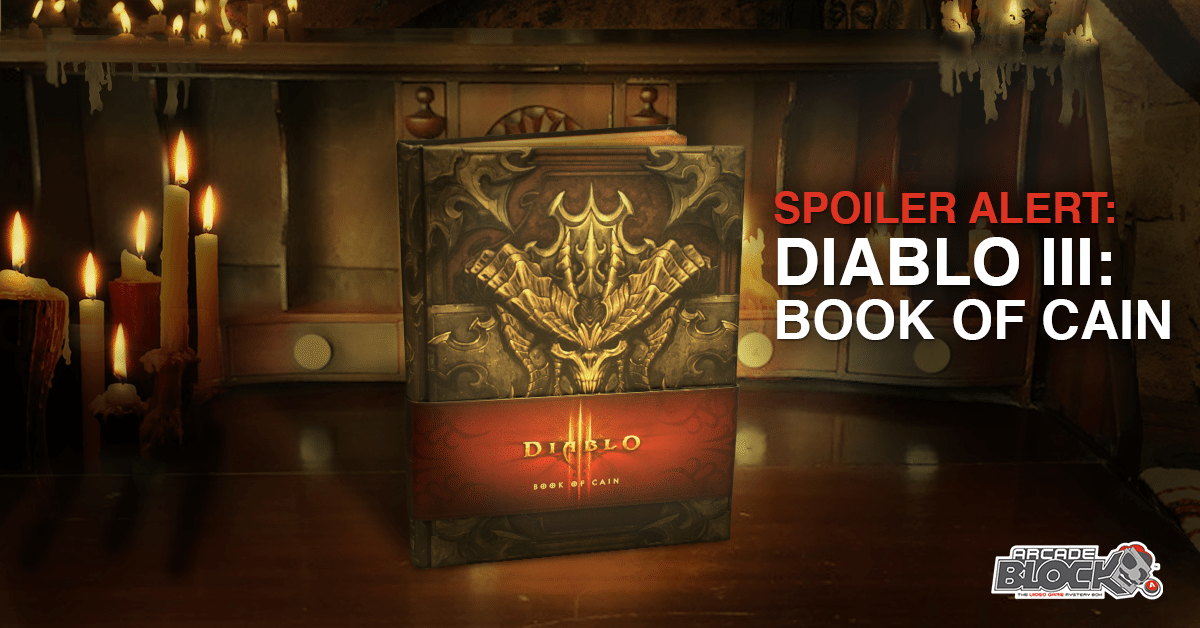 Arcade Block November 2016 Box Spoiler - Diablo III: Book of Cain