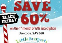 Little Passports Black Friday Sale - Save 60% Off