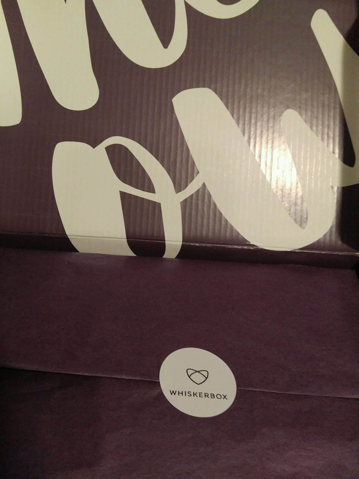 WhiskerBox October 2016 Box Review - Box
