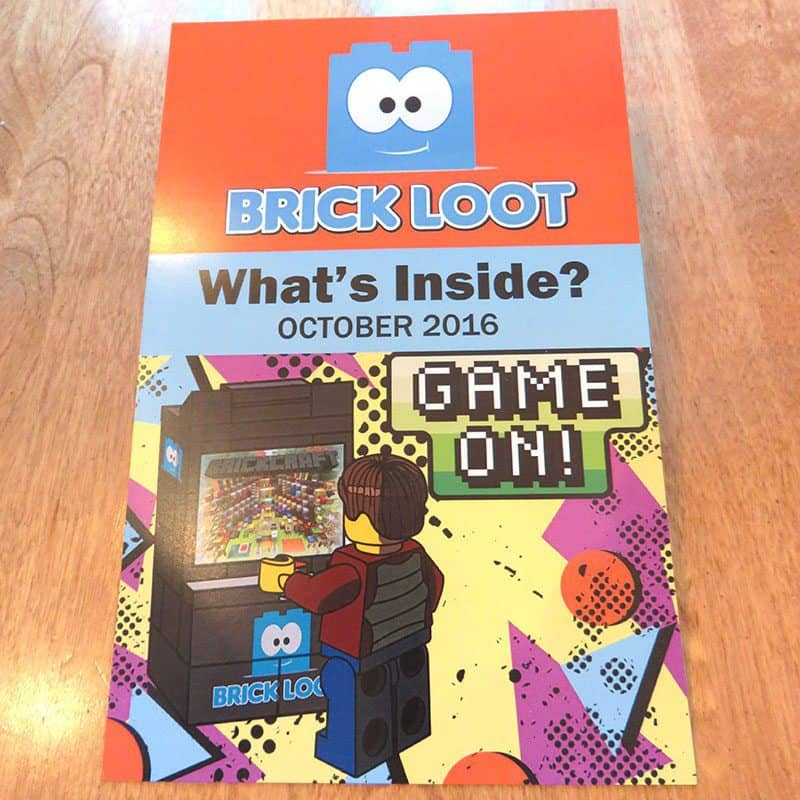 Brick Loot October 2016 Review - Sticker