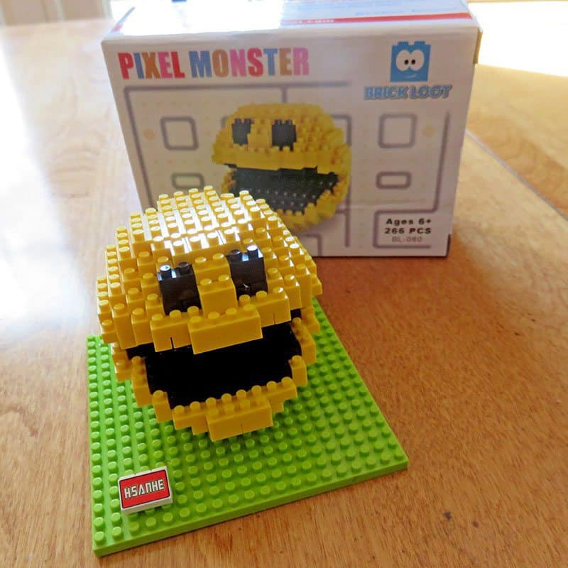 Brick Loot October 2016 Review - Pixel Monster