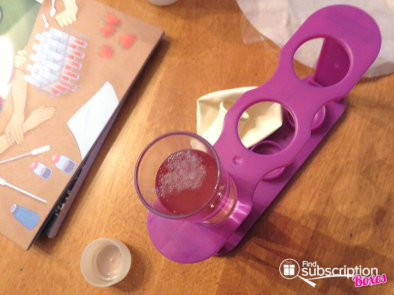 December 2016 Little Passports Science Expeditions Review - DNA Experiment