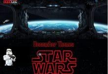 December 2016 Powered Geek Box Theme - Star Wars
