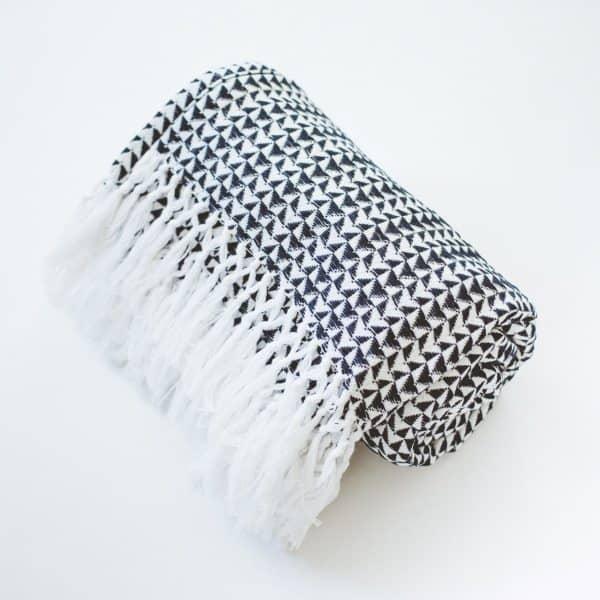 GlobeIn December 2016 Artisan Box Spoiler - Woven Cotton Throw