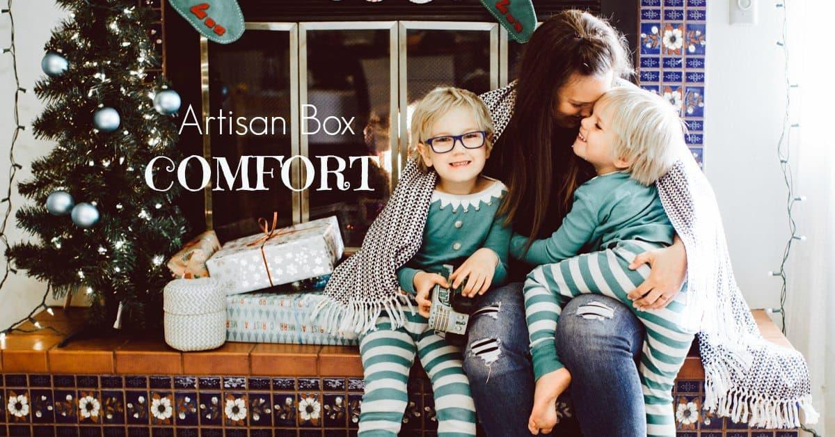 GlobeIn December 2016 Artisan Box Theme - Comfort