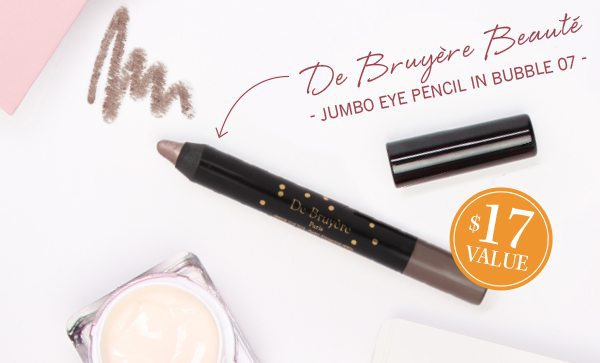 GLOSSYBOX November 2016 Box Spoiler - De Bruyere Beaute Jumbo Eye Pencil