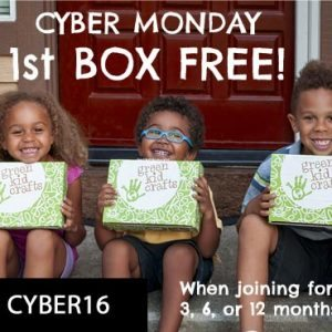 Green Kid Crafts Cyber Monday