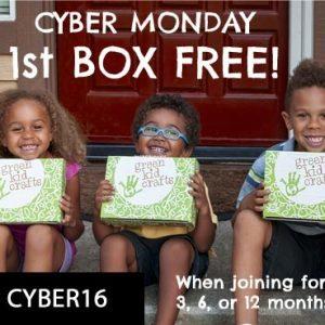 Green Kid Crafts Cyber Monday
