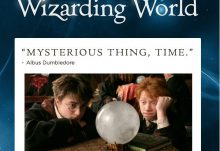 January 2017 J.K. Rowling Wizarding World Crate Theme - A Matter of Time