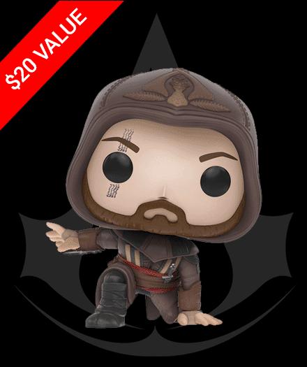 Loot Crate December 2016 Box Spoiler - Assassin's Creed Funko Pop!