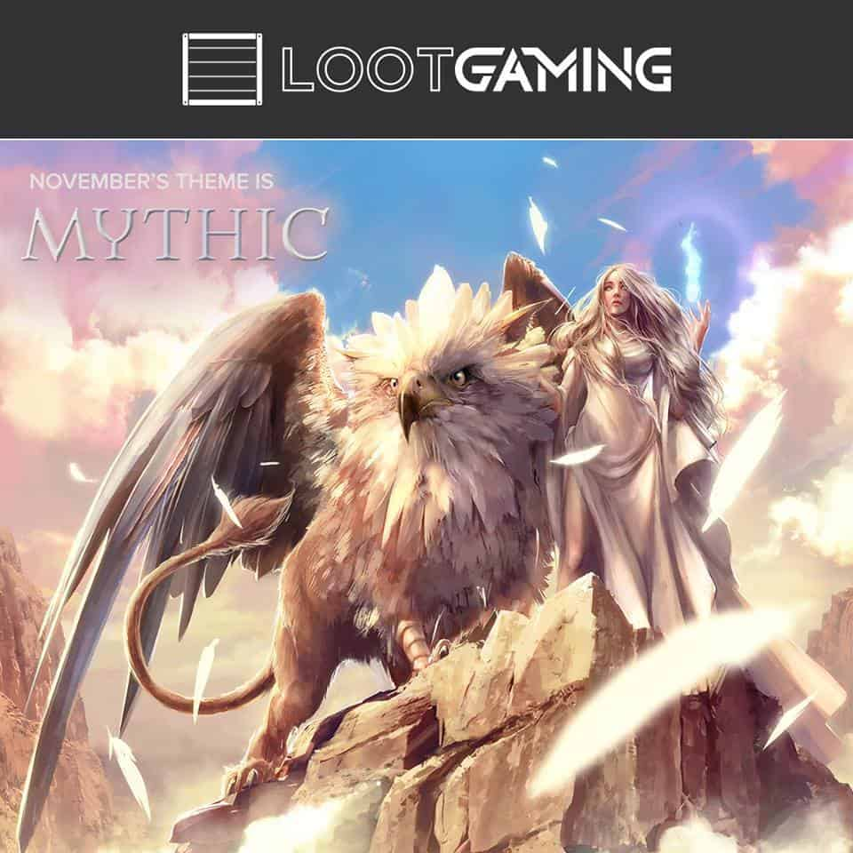 Loot Gaming November 2016 Theme Reveal - MYTHIC