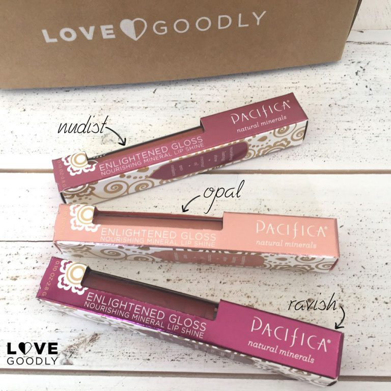 LOVE GOODLY December/January 2016 Box Spoiler - Pacifica Lip Gloss