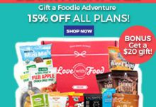 Love With Food Black Friday Sale - Save 15% Off + $20 Gift