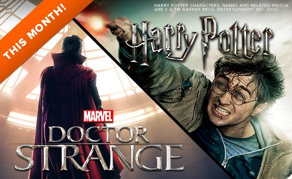 November 2016 Loot Socks Spoiler - Harry Potter & Doctor Strange