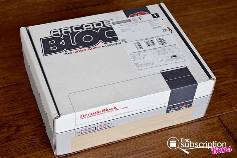 October 2016 Arcade Block Review - Box