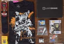 October 2016 Loot Gaming Review - Rumble Crate - Box Contents