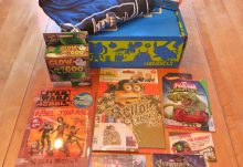 October 2016 Nerd Block Jr. for Boys Review - Box Contents