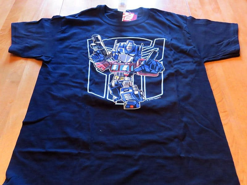 October 2016 Nerd Block Jr. for Boys Review - Transformers T-Shirt