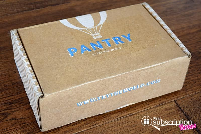 October 2016 Pantry by Try The World Review - Box