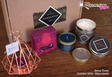 Scent From October 2016 Marrakesh Box Review - Box