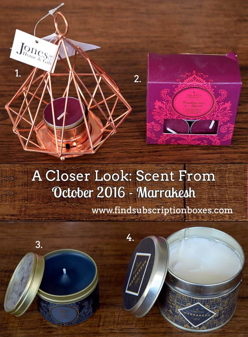 Scent From October 2016 Marrakesh Box Review - Inside the Box