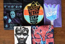 September 2016 Shirt Block Review - Box Contents