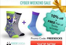 Sock Panda Cyber Weekend Sale