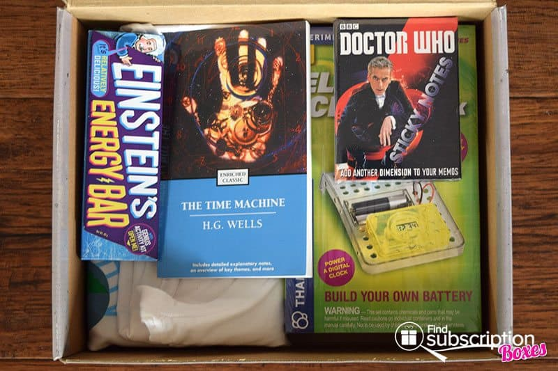 October 2016 Supply Pod Time Travel Box Review - First Look
