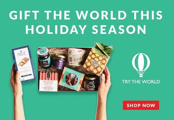 Start with The Holiday Box and get a free Italy Box | Try The World
