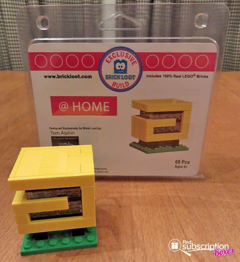 Brick Loot November 2016 Review - Home