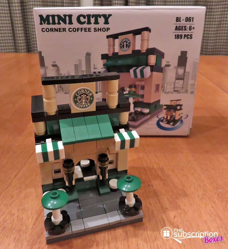 Brick Loot November 2016 Review - Mini City Coffee Shop