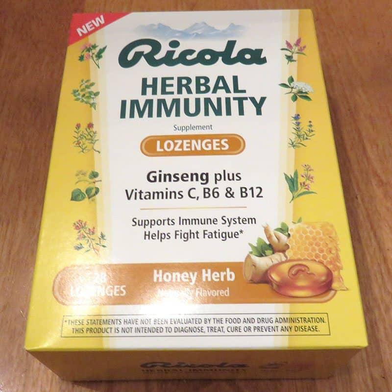 December 2016 Degustabox Review - Ricola Herbal Immunity