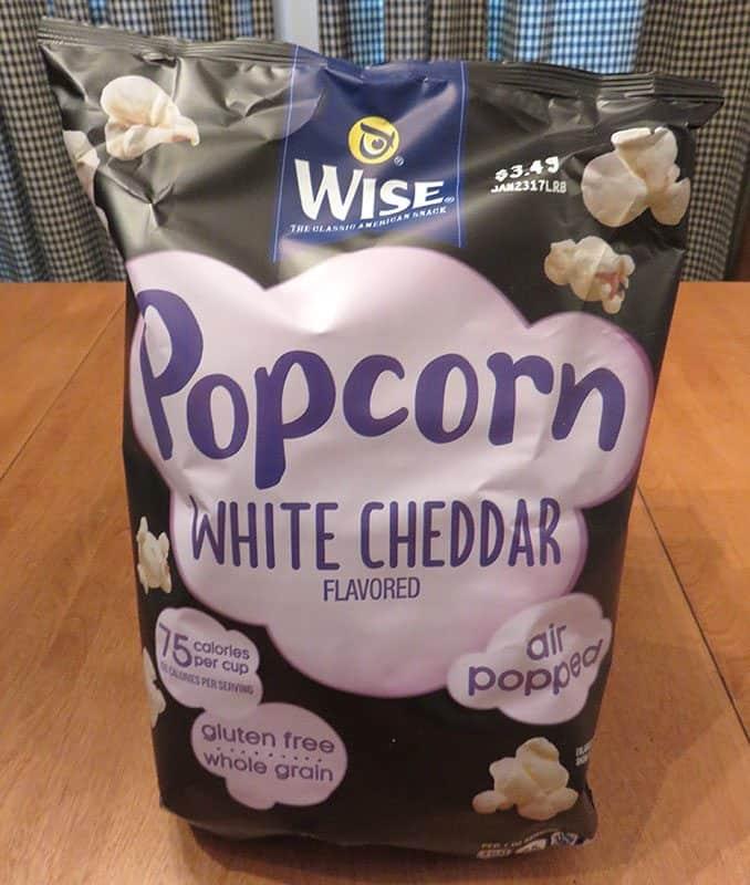 December 2016 Degustabox Review - Wise Popcorn