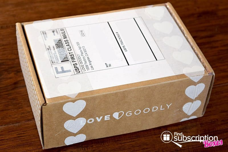 December/January 2017 LOVE GOODLY Review - Box