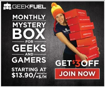 Geek Fuel $3 Off Coupon