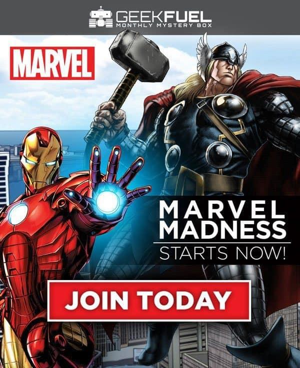 Geek Fuel December 2016 Box Spoiler - Marvel