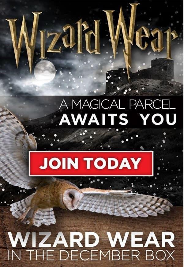 Geek Fuel December 2016 Box Spoiler - Wizard Wear