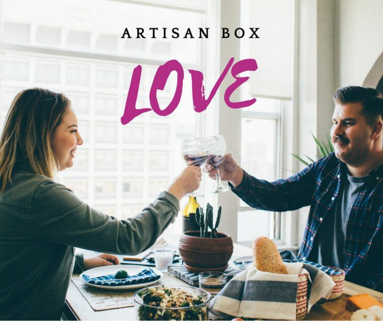 GlobeIn January 2017 Artisan Box Theme - Love