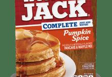 January 2017 Degustabox Spoiler - Hungry Jack Pumpkin Spice