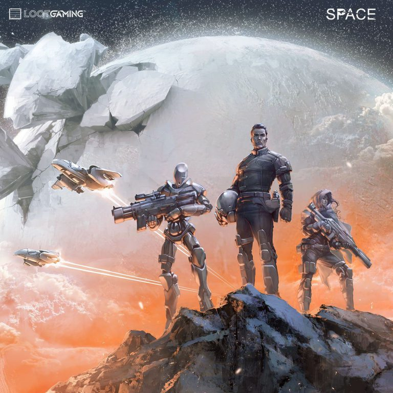 Loot Gaming December 2016 Box Theme - SPACE