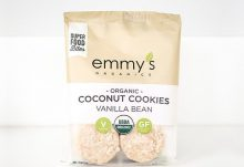Love With Food January 2017 Box Spoilers - Emmy's Organics Coconut Cookies