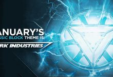 Nerd Block January 2017 Theme - Stark Industries