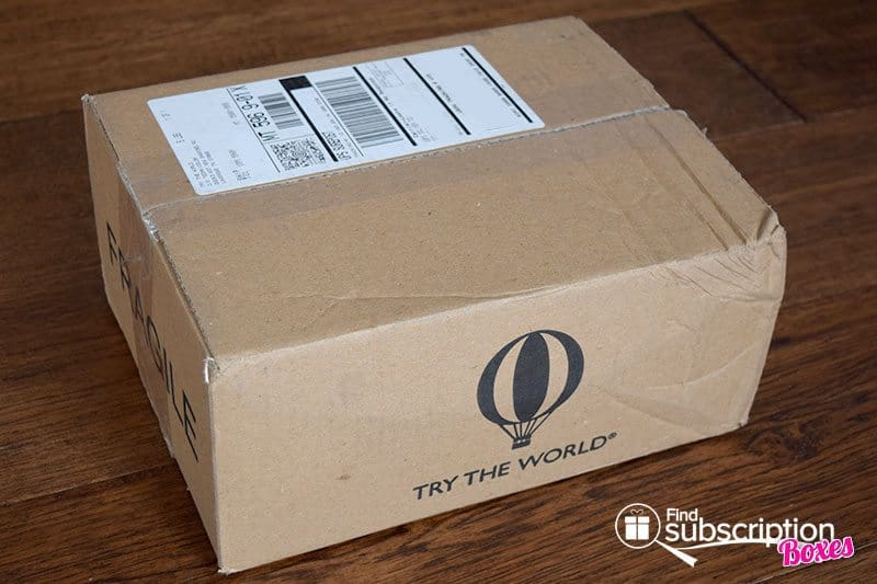 November 2016 Pantry by Try The World Review - Box
