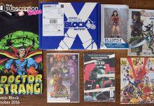 October 2016 Comic Block Review - Box Contents