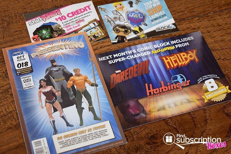October 2016 Comic Block Review - Cards